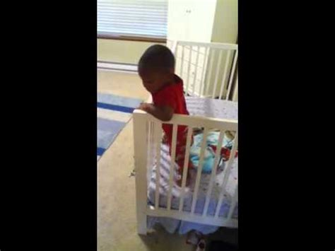 Baby Escapes From Crib Youtube Baby Escapes From Crib