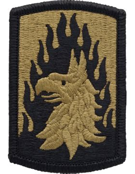 operational camouflage pattern unit patches ocp unit patch 12th aviation brigade with fastener
