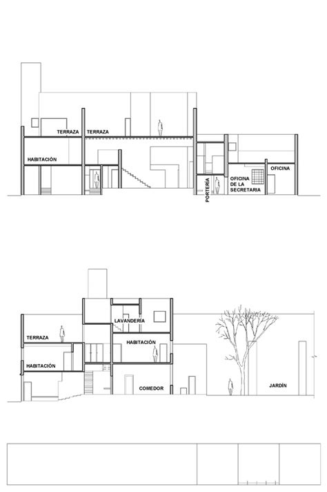 Chapel Floor Plans And Elevations Casa Estudio De Luis Barrag 225 N 101planosdecasas Com