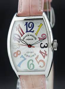 color dreams us franck muller stainless steel size automatic colour