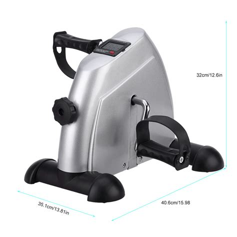 portable mini exercise bike exerciser resistance cycle