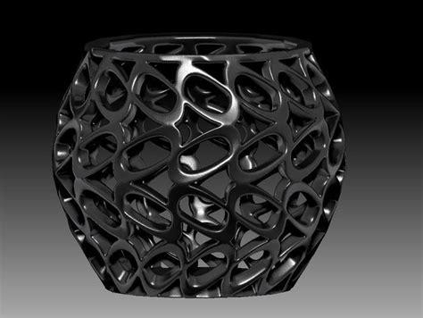 parametric vase  print model cgtrader