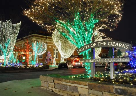 lights of the ozarks 2017 12 christmas light displays in arkansas that you have to