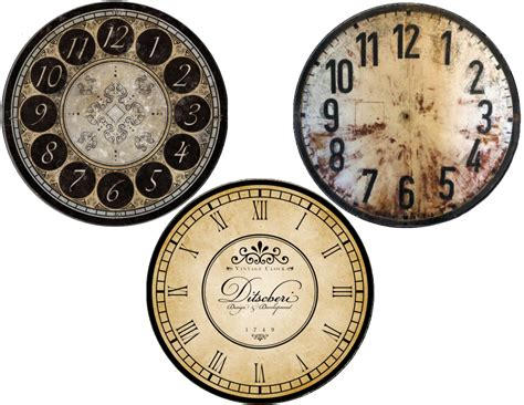free printable clock labels new years free clock face printables cd size and plate