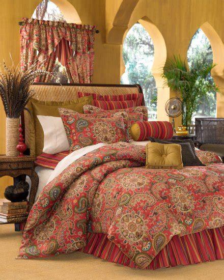 paisley comforter queen 4pc moroccan red dalyan paisley queen comforter