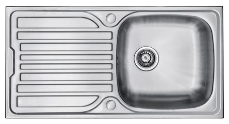 Single Bowl Kitchen Sink With Drainer Wex Telesto Stainless Steel Sink With Drainer Single Bowl