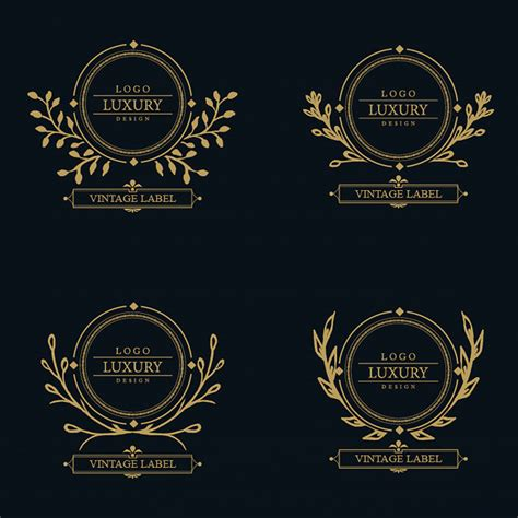 free luxury logo design vip icon vectors photos and psd files free download