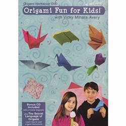 Origami Dvd - origami dvd origami for with mihara avery