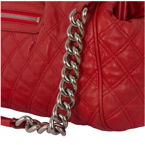 Marc Quilted Fabric Stam Bag by Marc Quilted Leather Stam Bag My Luxury Bargain