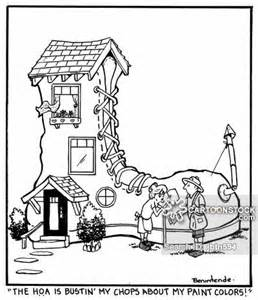 hilarious hoa stories homeowners association cartoons and comics funny pictures from cartoonstock