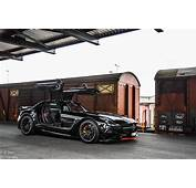 Black Mercedes Benz SLS AMG Series Photoshoot  GTspirit