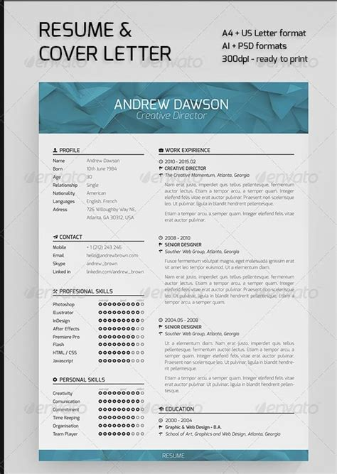 Awesome Resume Templates by Exle Resume Awesome Resume Templates