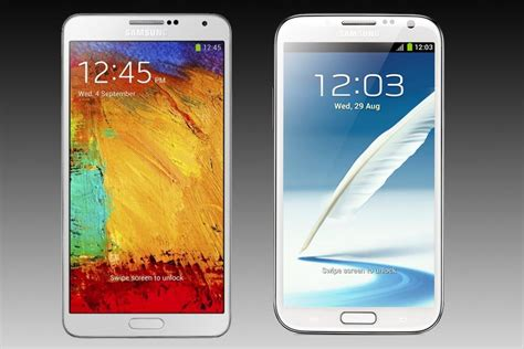 Galaxy Note 3 Vs Galaxy Note 2 New Vs Spec