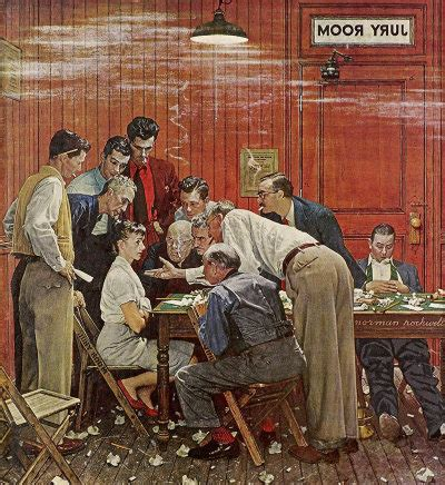 Can You Be On A Jury With A Criminal Record Related Keywords Suggestions For Norman Rockwell Jury