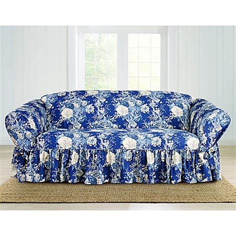 waverly slipcovers sale buy sure fit 174 ballad bouquet by waverly sofa slipcover in