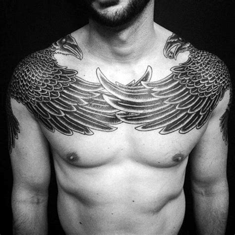 tattoo feather chest 100 crow tattoo designs for men black bird ink ideas