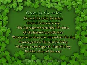 poems for st s day