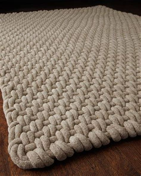 how to make a macrame rug weaving patterns furniture and rope rug on