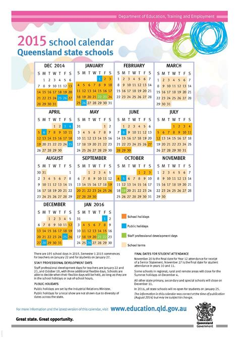 printable calendar queensland 2016 elegant holiday calendar queensland 2015 calendar