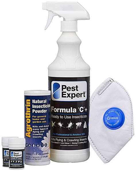 flea treatment kit for 1 room 163 22 95 pest