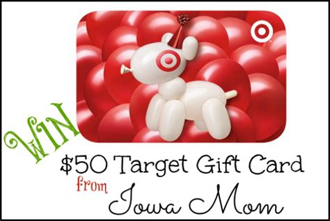 Target How Much Is On My Gift Card - 50 target gift card giveaway ends 1 24 everything mommyhood
