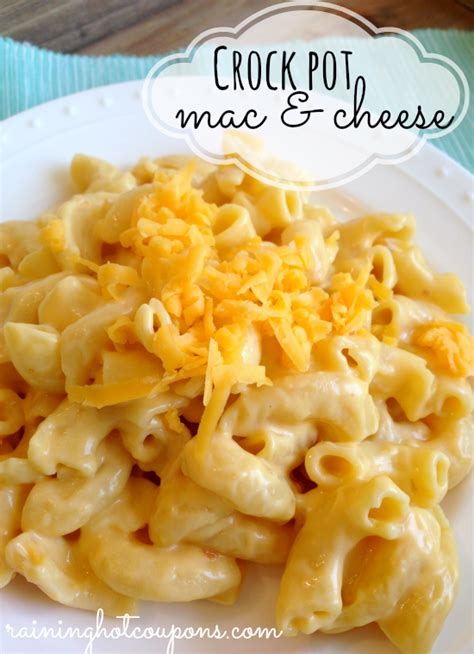 easy crockpot macaroni and cheese recipe dishmaps