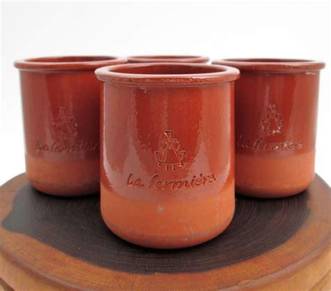 8 Uses For Yoghurt Pots by 4 La Fermiere Yogurt Containers Glazed Terracotta