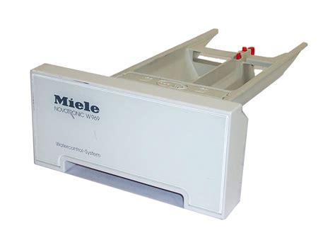 Miele Washing Machine Detergent Drawer miele soap drawer for novotronic w969 washing machine ebay