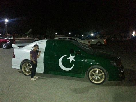 a pic of a car pakistan cars decoration on independence day hd