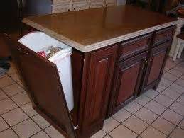 kitchen island trash 1000 images about kitchen cart on pinterest trash can
