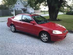 sell used 1999 honda civic ex coupe 2 door 1 6l in