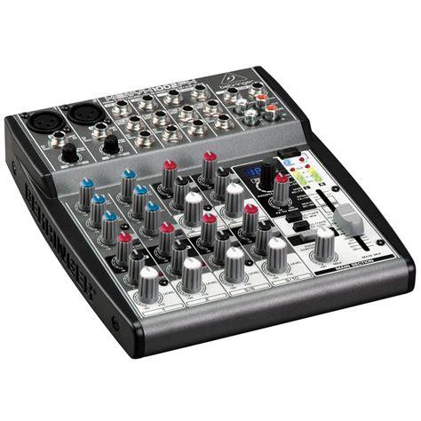 Mixer Behringer Xenyx 802 mesa de som behringer xenyx 802 mixer 8 canais car