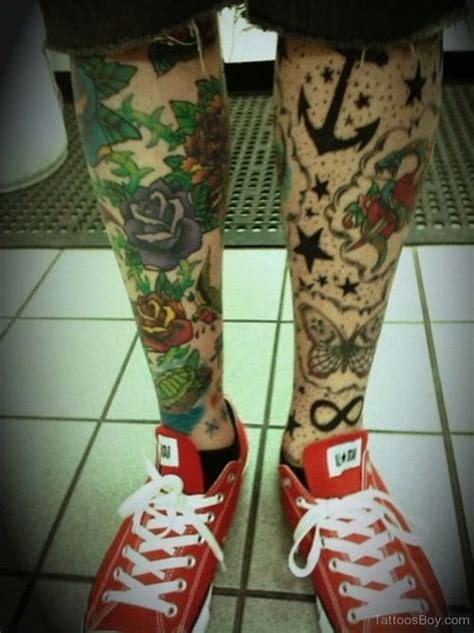 tattoo roses on legs leg tattoos designs pictures page 11