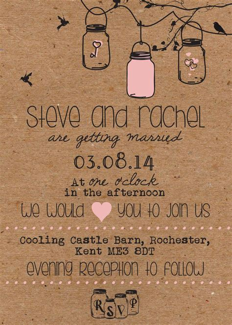 diy shabby chic wedding invitations oltre 25 fantastiche idee su inviti shabby chic su