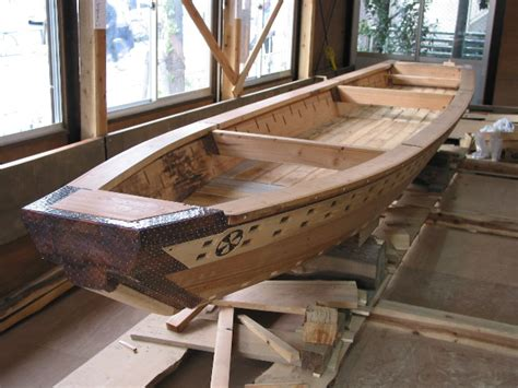 wooden boat japanese douglas brooks boatbuilder japanese boats tenmasen