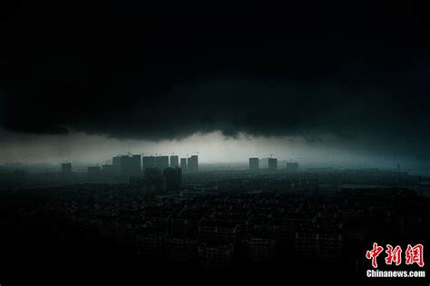 Bewerbung Stadt Und Datum Natur Und Umwelt German China Org Cn Unwetter Dunkle Wolken 252 Ber Shaoxing Verwandeln Den