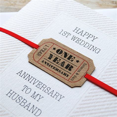Wedding Anniversary Card by Personalised Wedding Anniversary Card By Button Box