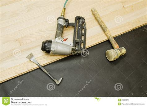 Wood Floor Installation Tools Hardwood Flooring Tools Stock Image Image 25207371