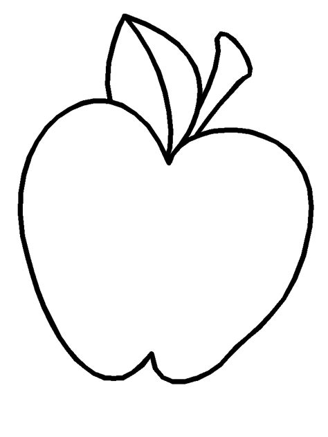 apple fruit coloring page printable apple fruit coloring pages coloringpagebook com