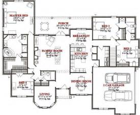 4 Bedroom Floor Plans by 2767 Square Feet 4 Bedrooms 3 Batrooms On 2 Levels