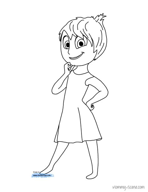coloring pages inside out movie disney s inside out coloring pages mommy scene