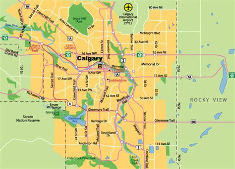 calgary map maps of calgary alberta canada search engine at search