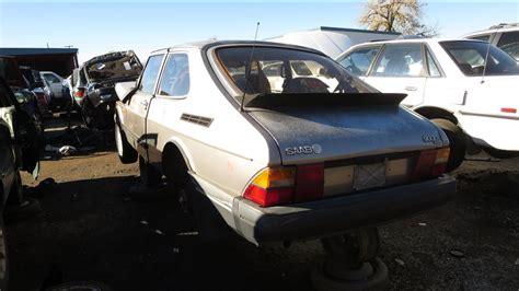 1987 saab 900s junkyard find