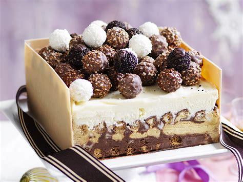 icecream cake ferrero rocher cake
