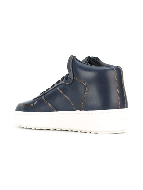mens coach sneakers coach c210 sneakers in blue for lyst