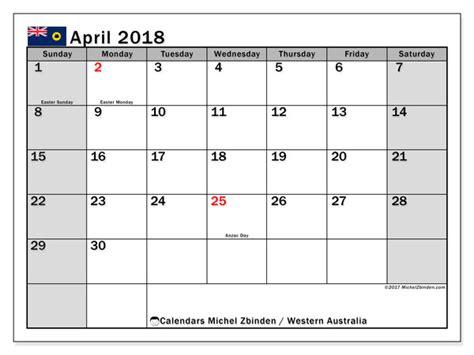 calendar april  western australia michel zbinden en