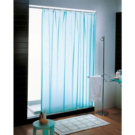 doccia tenda tenda doccia per bagno in pvc azzurro