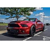Ford Mustang Shelby GT500 Super Snake Convertible 2014  1 July 2015