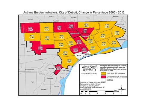 detroit zip code map detroit health chief don t let marathon up pollutants
