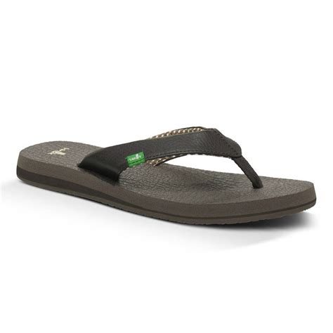 sandals sanuk sanuk womens mat flip flops
